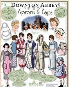 1920s-sewing-patterns-Downton-Abbey-apron