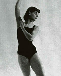 1950s Ballerina swimsuit