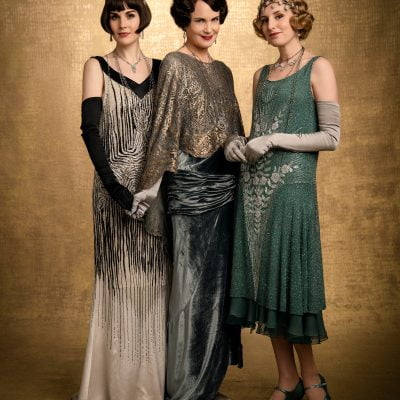 1920s Dress Sewing Pattern: Inspired from Downton Abbey
