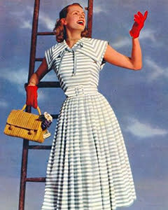 Make Stripes the Focal Point1950s