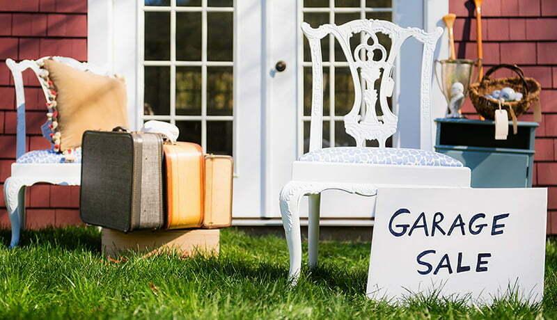 Yard and garage sales