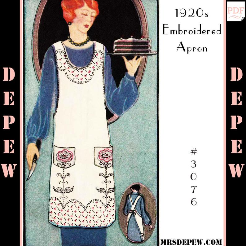 One Size Fits All Vintage Sewing Pattern 1920s Ladies' image 0