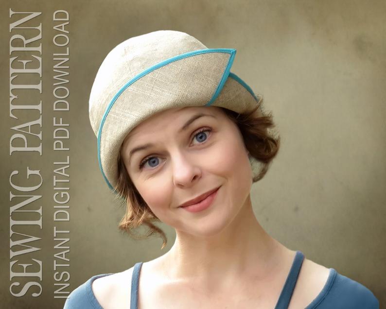 SEWING PATTERN  Penelope 1920's Twenties Downton Abbey image 0