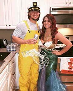 fishman halloween costume