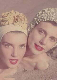 1950s Bathing Hair Caps