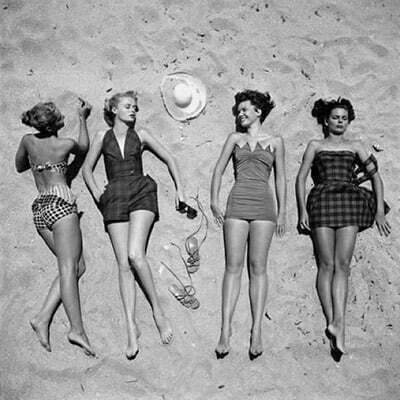 1950's Bathing Suits for Teenagers and Juniors: Slimming your Tummy and Belly