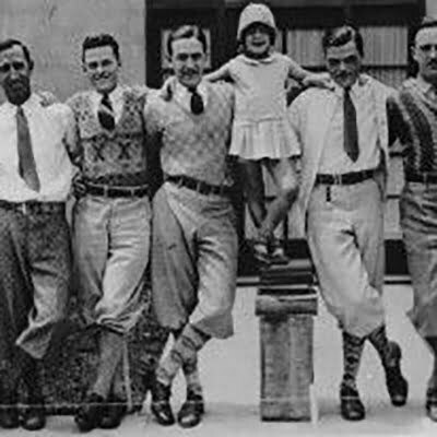 1920s Men's Fashion of Knickerbockers: Dress in The Avant-Garde Style