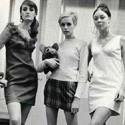 1960s Plaid Dress in the Fall: Fashion Shocker -Mini Plaid Skirt