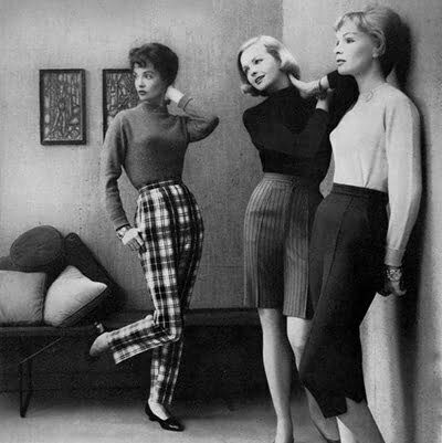 1950s Plaid Pants: Never Outdated for Ladies