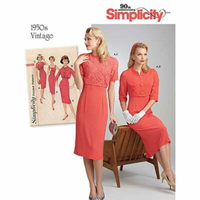 1950s Style Sewing Patterns: Simplicity Type
