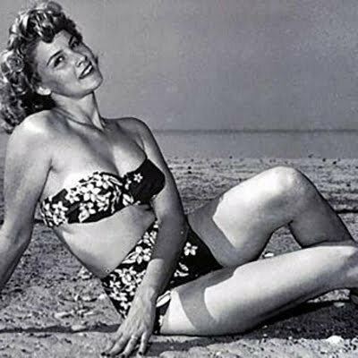 1950s Two-piece Bathing Suits – Thining and Posting Yourself at the Beach