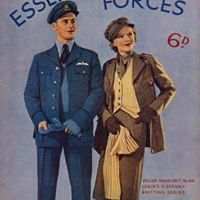 1940s Sewing Patterns Collection: Women's & Men's Vintage Fashion