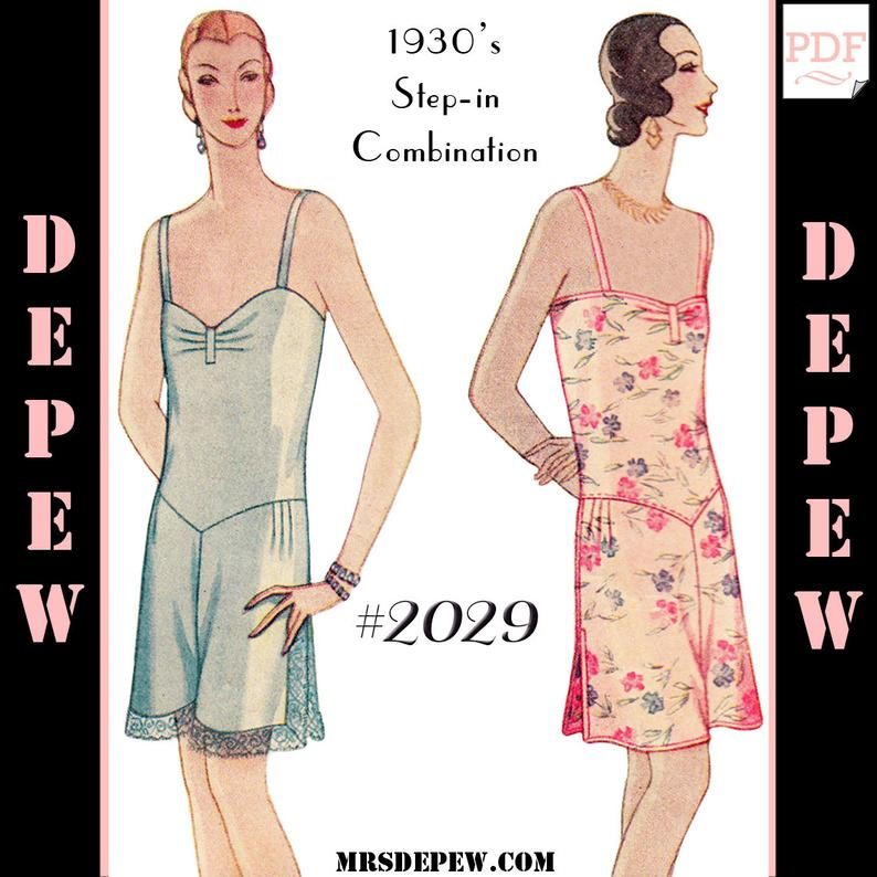 Vintage Sewing Pattern Reproduction Multi-Size 1920's image 0
