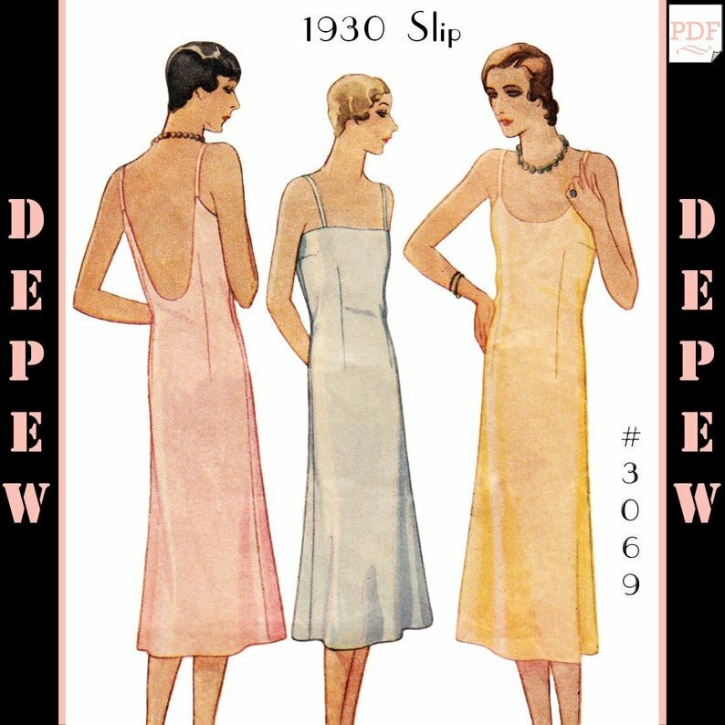 Vintage Sewing Pattern Ladies' 1920's  1930's image 0
