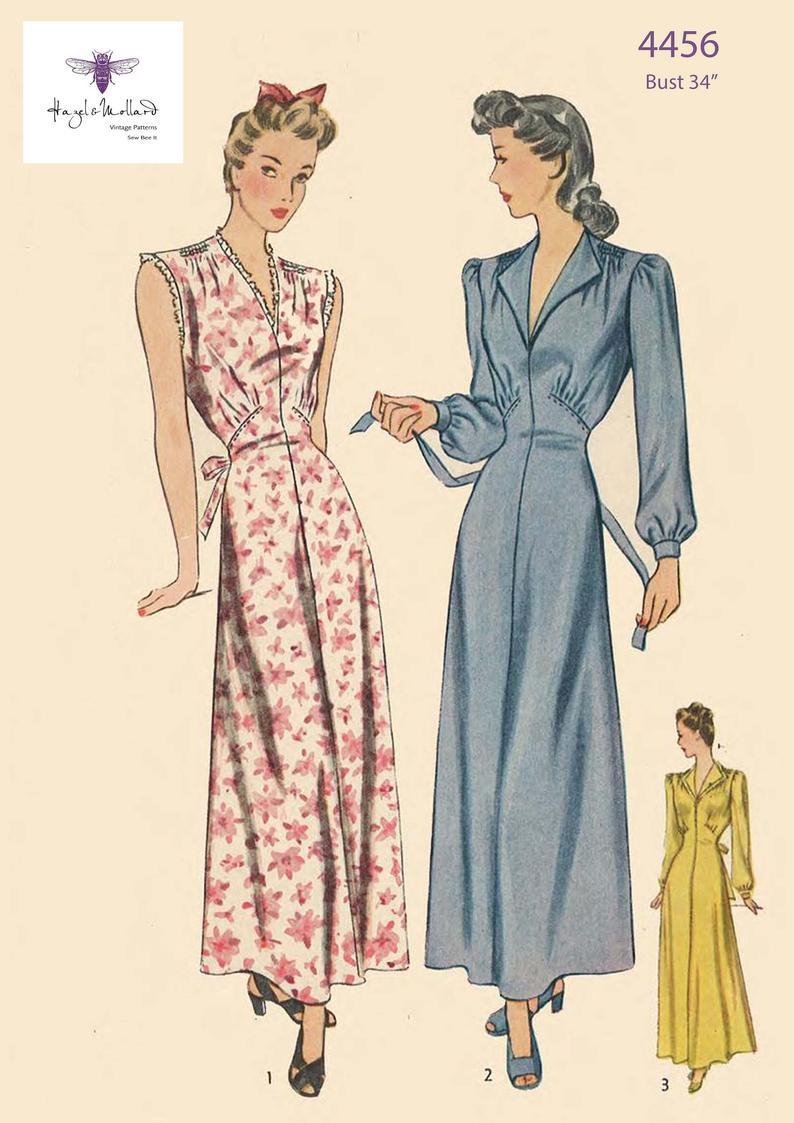 Vintage 1940's Sewing Pattern: Women's Elegant image 0