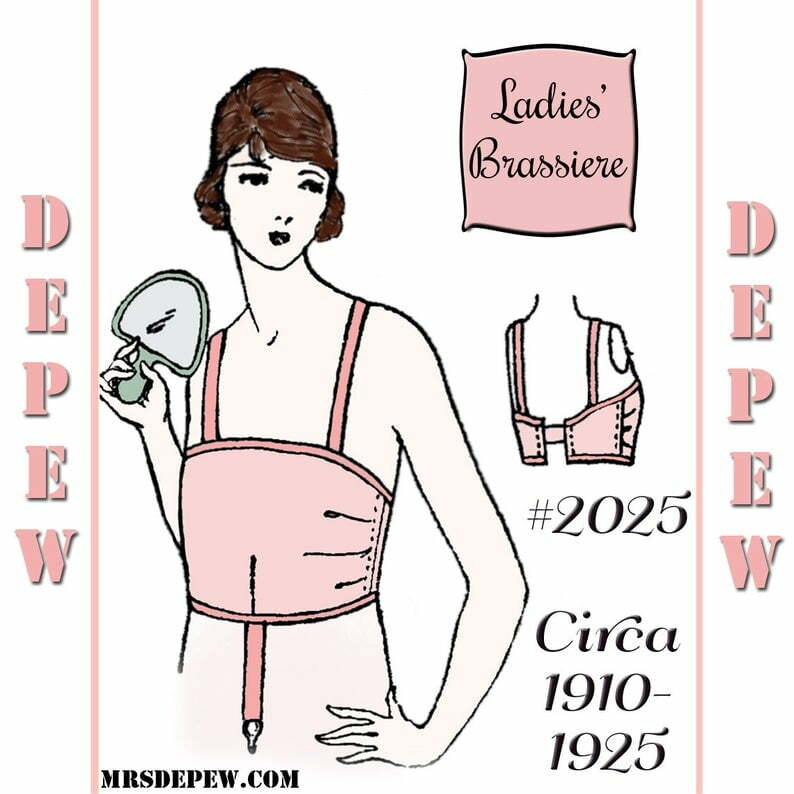Vintage Sewing Pattern Ladies 1910's  1920's Style image 0