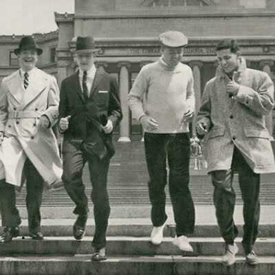1950s Style T-shirts for Men: Dressing up after the War