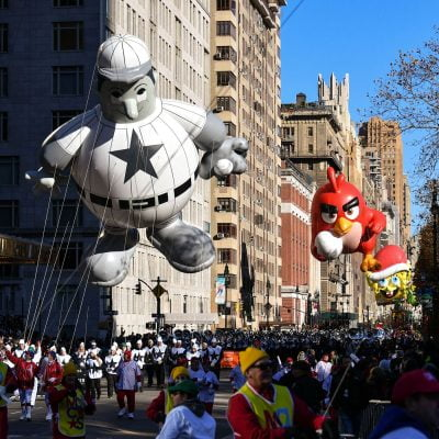 Vintage Photos of Balloons from the Macy's Thanksgiving Day's Parade