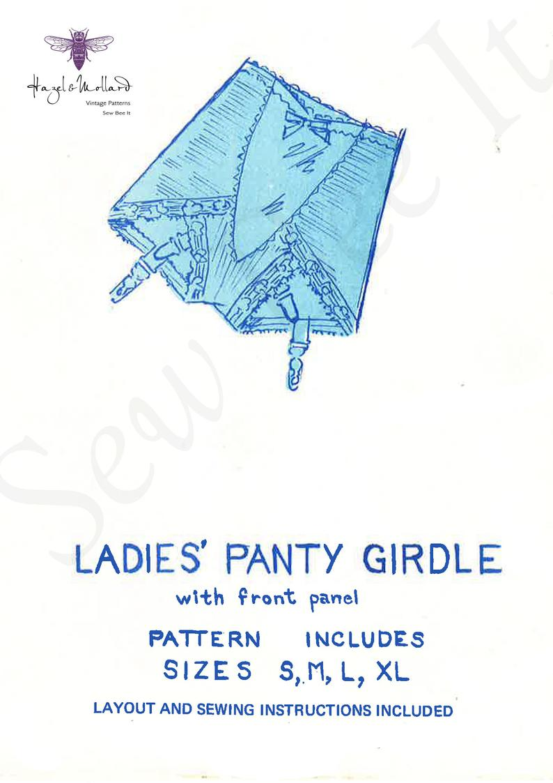 Vintage 1960's Sewing Pattern: Ladies' Panty Girdle image 0