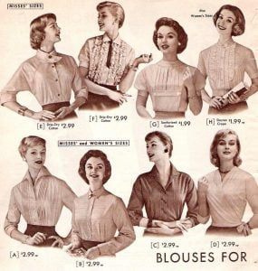Best-Women-long-sleeve-Shirts-of-the-50s-2