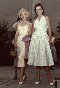 Marilyn Monroe and Jane Russel