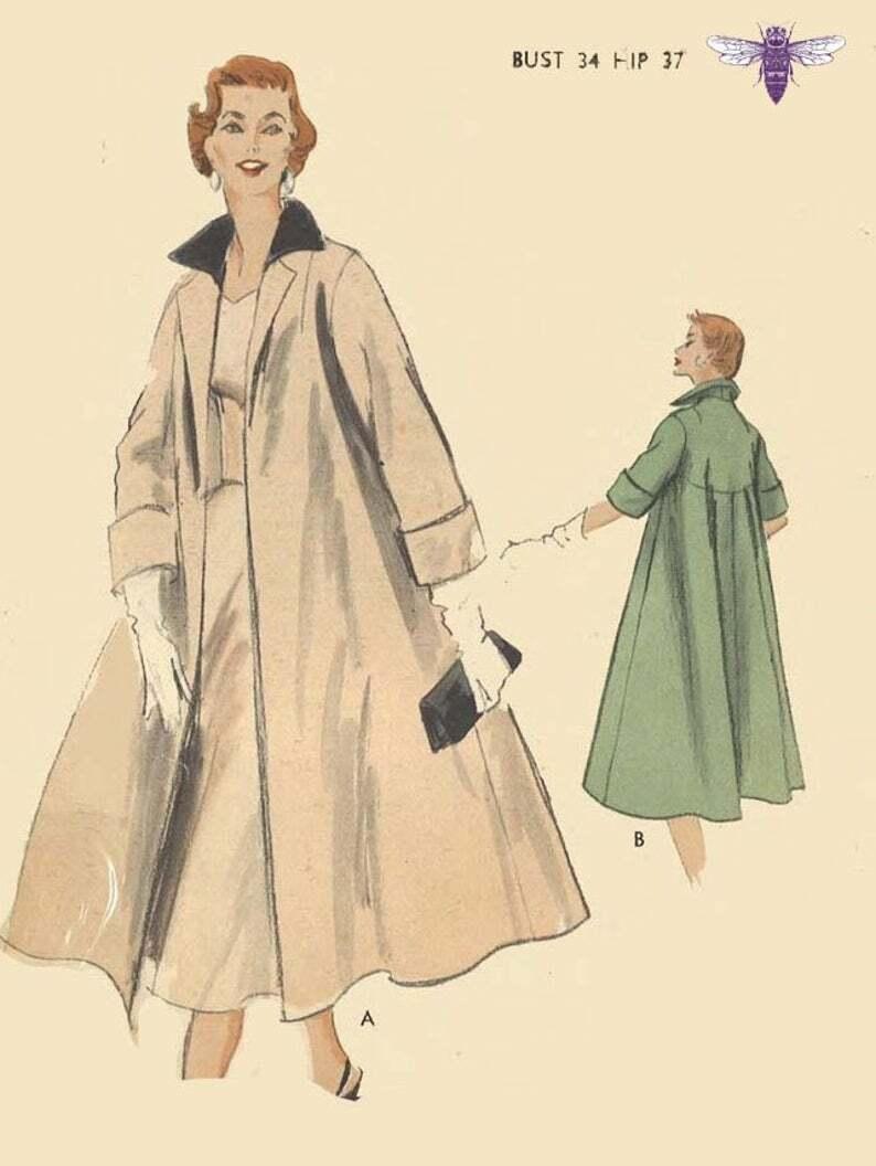 Vintage 1950's Sewing Pattern: Vogue Special Design  image 0