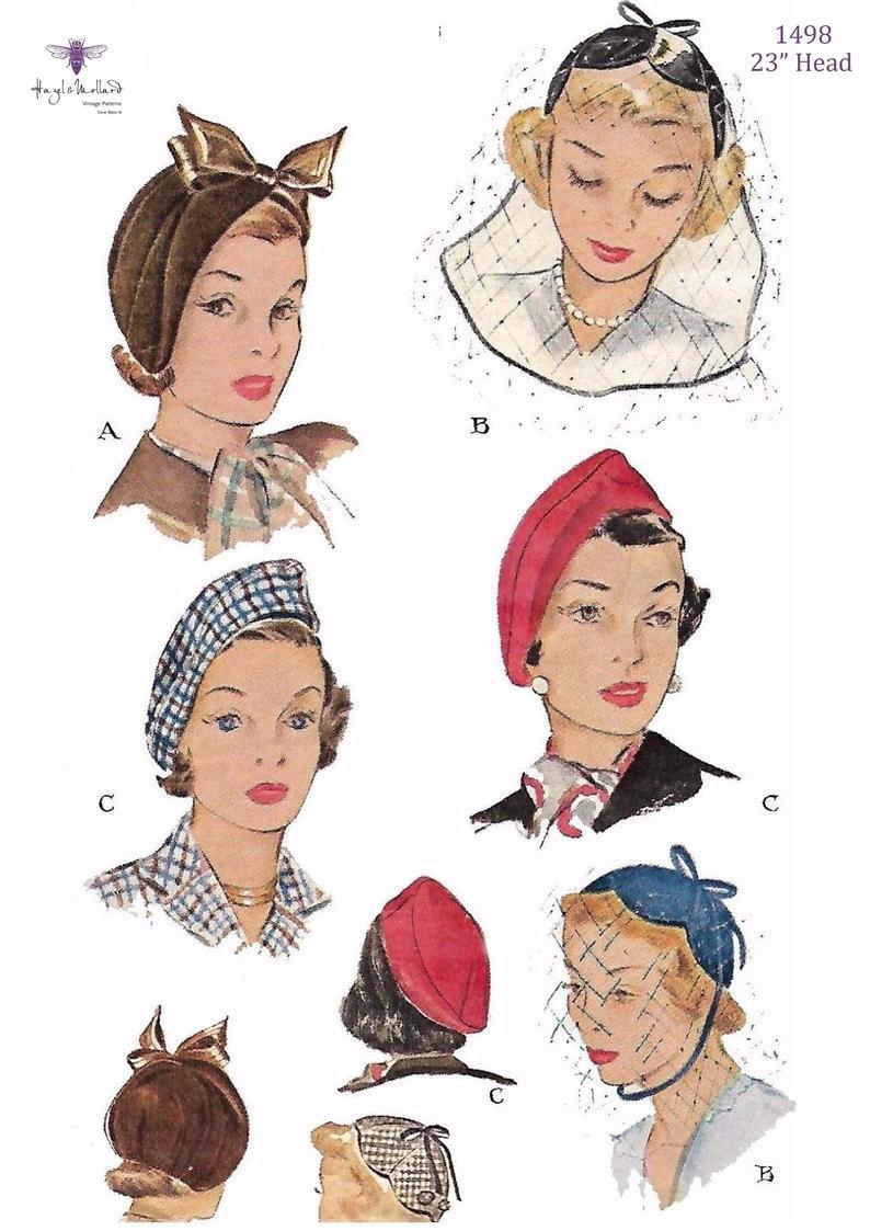 Vintage 1940's/50's Sewing Pattern: Ladies' image 0