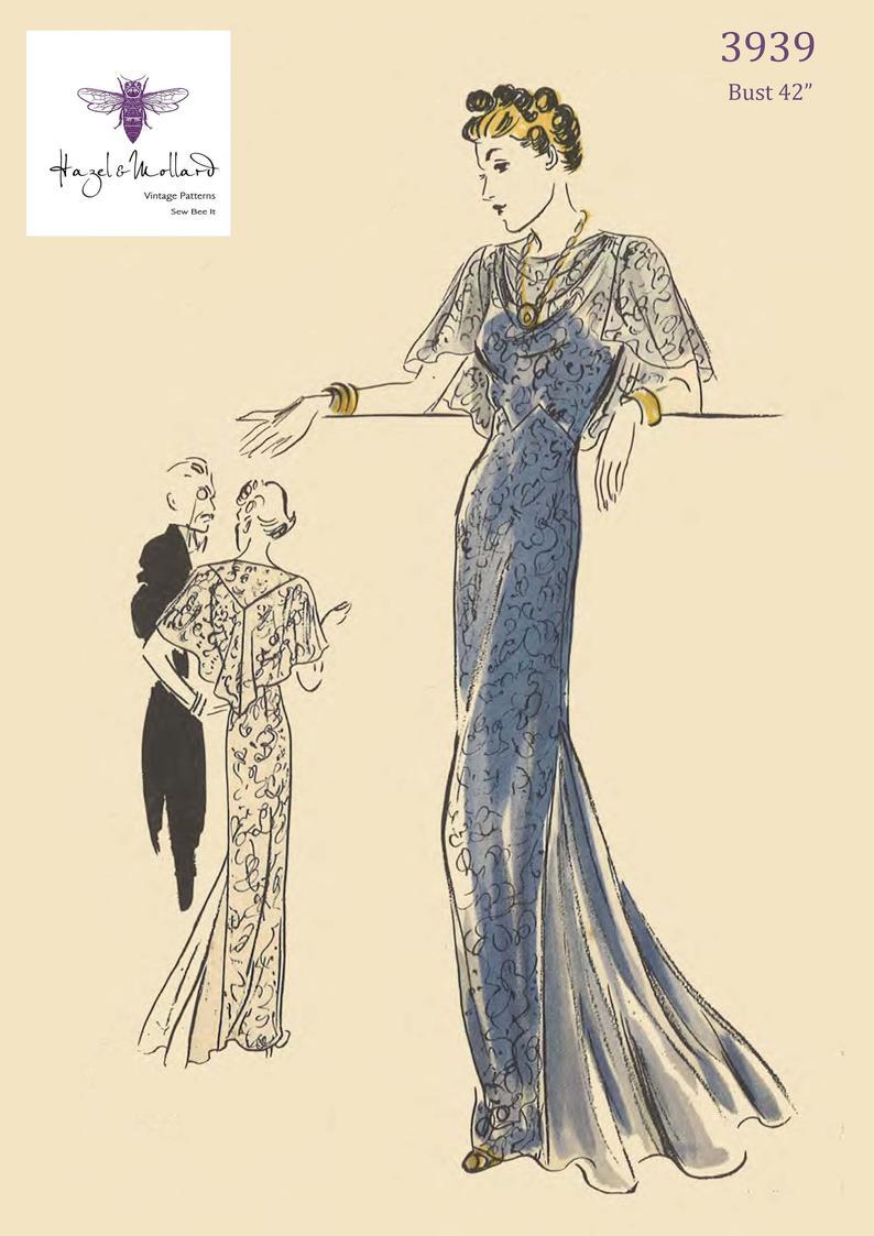 Vintage 1930's Sewing Pattern: Vogue Special Design image 0