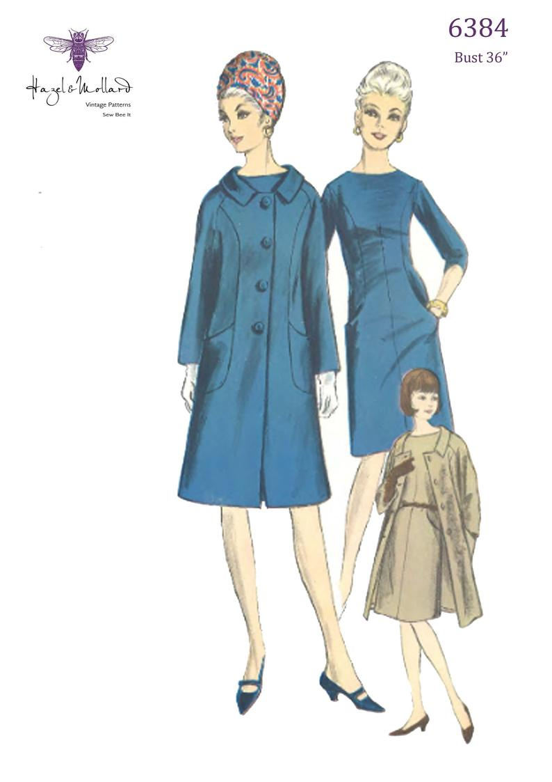 Vintage 1960's Sewing Pattern: Vogue Special Design Dress image 0
