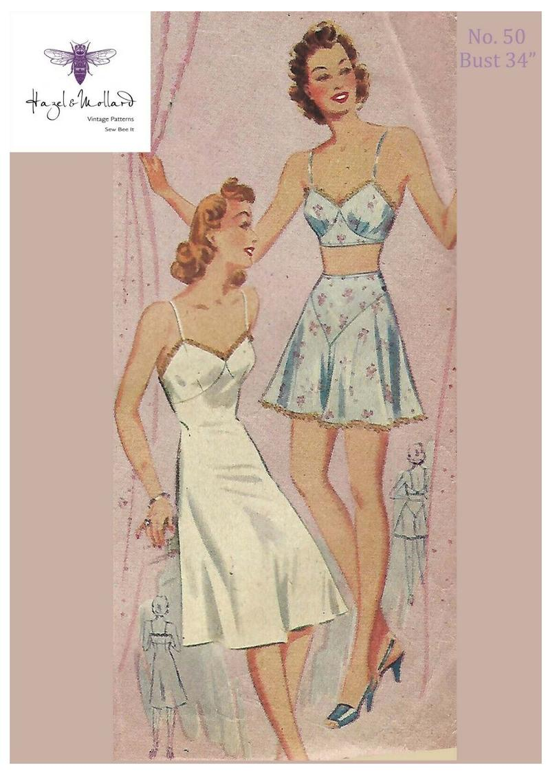 1940's Vintage Reproduction Sewing Pattern Women's image 0