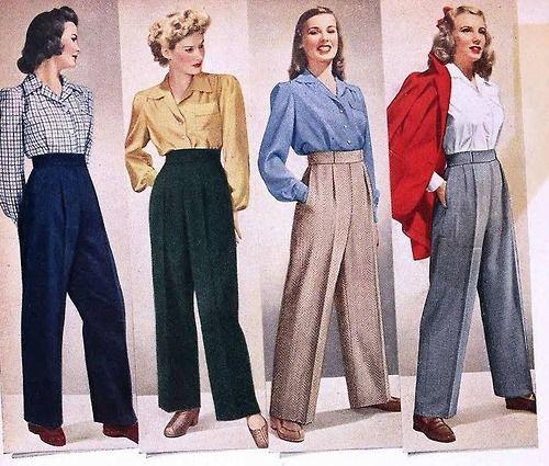 1930 Fashion Pants
