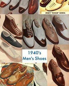 40s men shoes