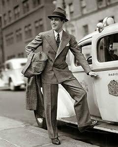 The tweed suit