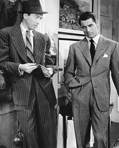 The drape suit