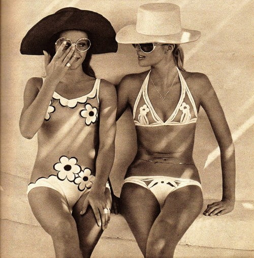 Swimsuits of the 1970s