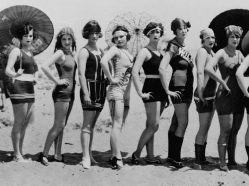 Swimsuits of the 1920s