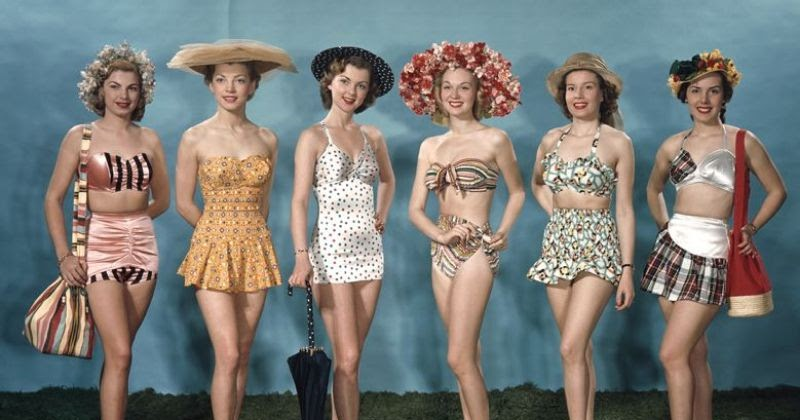 swimsuits of the 1940s