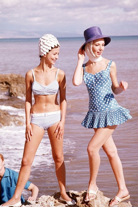 Swimsuits of the 1960s