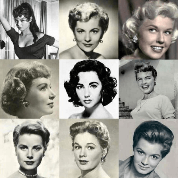 Hairstyles of the 1950s
