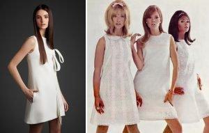 Mod Style Wedding Dress
