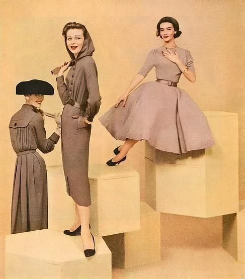 New Look Fashion of the 1950s