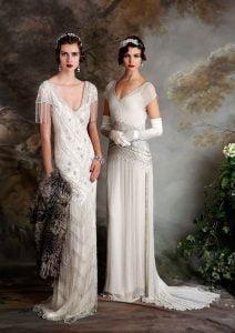 1920s Long Wedding Dresses