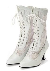 Victorian Lace Women's Boots