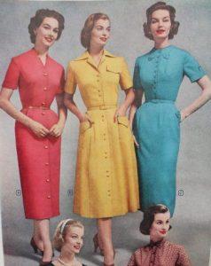 1950s Pencil Dresses