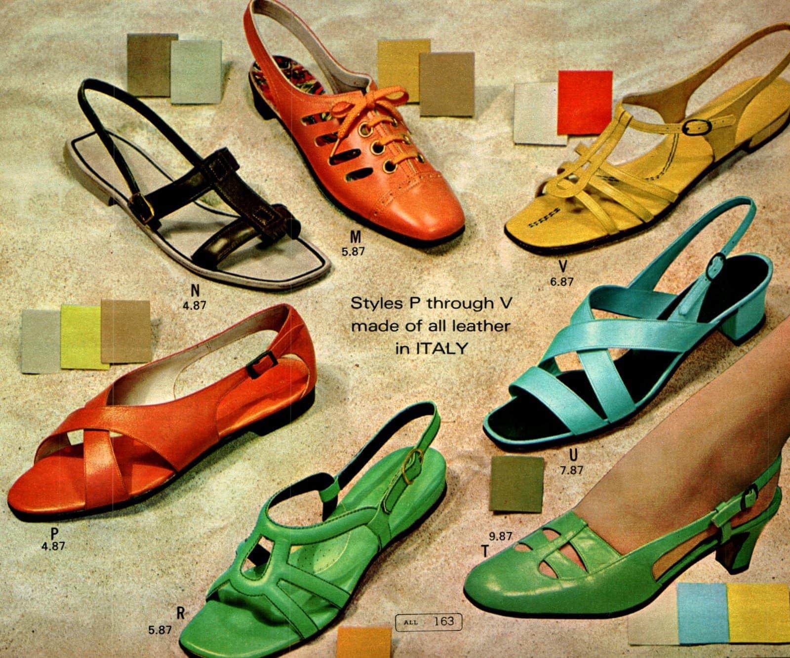 Retro 60s shoes