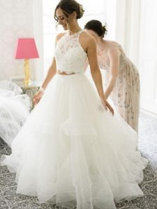 Two-Pieces Wedding Bridal Skirts