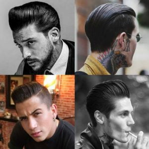 Greaser Hairstyle for Men