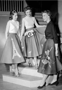 Greaser Poodle Skirts