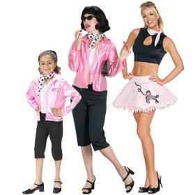 Halloween Pink Ladies Costume