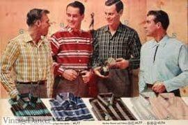 1950s Men's Casual Shirts